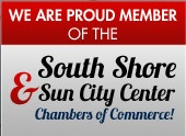 We are proud members of the South Shore and Sun City Center Chambers of Commerce!