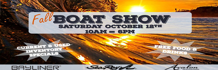 Fall Boat Show