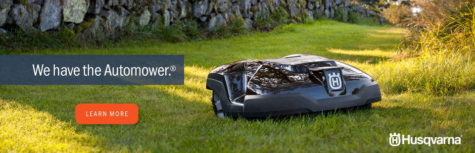 We have the Automower! Click to learn more.