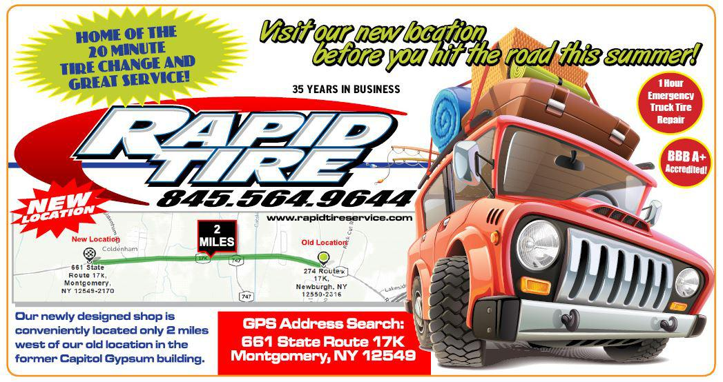 rapid tire service montgomery ny tires and tire services shop
