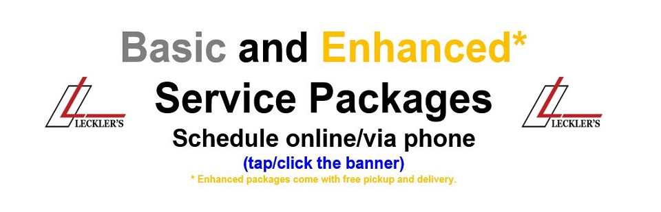 Leckler's Service Packages