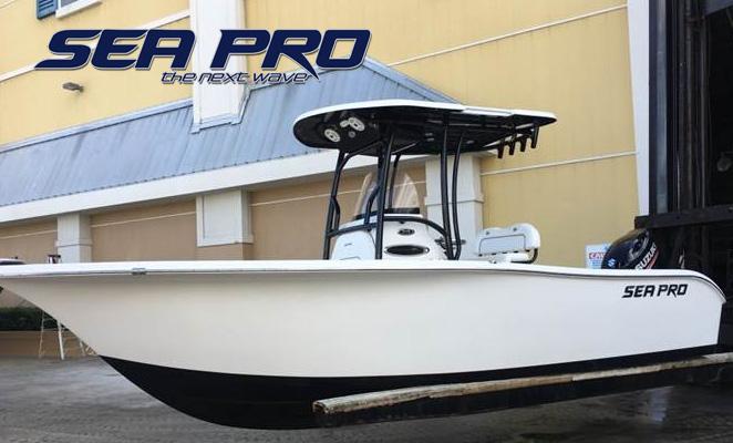 2018 Sea Pro 219 Deep V Center Console