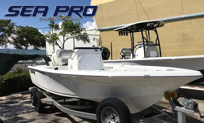 2018 Sea Pro 208 DLX Bay Series