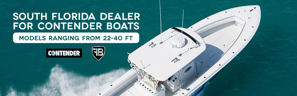 South Florida Dealer for Contender Boats: Click here to view our selection!