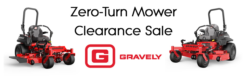 Gravely Zero-Turn Mower Clearance Sale