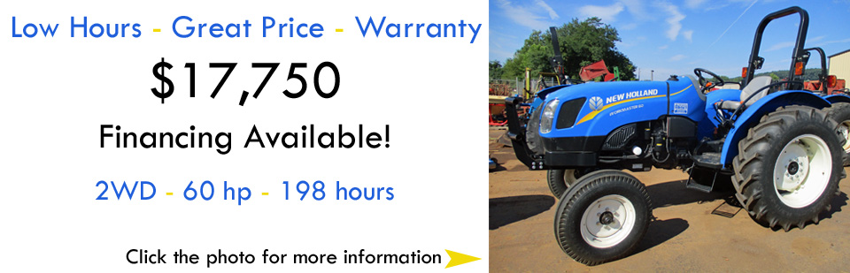 2WD New Holland Workmaster 60 Utility Tractor