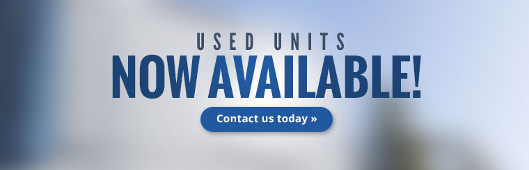Used units now available! Click here to contact us.