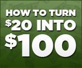 How to turn $20 into $100.