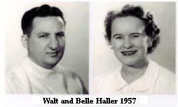 Walt and Belle Haller