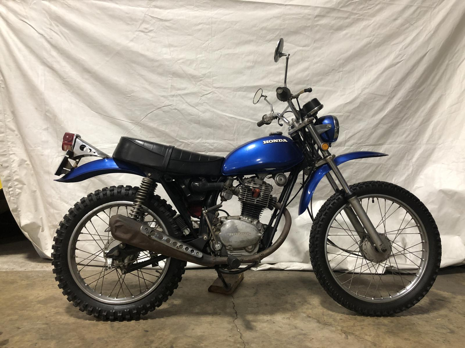 Alabama Powersports 1970 Honda 125 Dirt Bike Sl