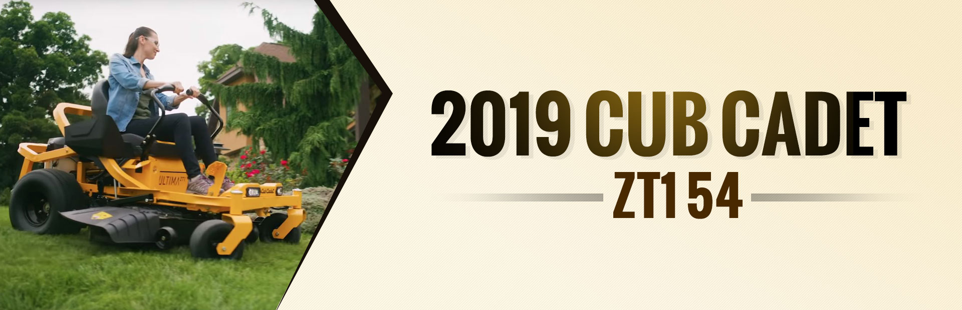 2019 Cub Cadet ZT1 54: Click here to view the model.