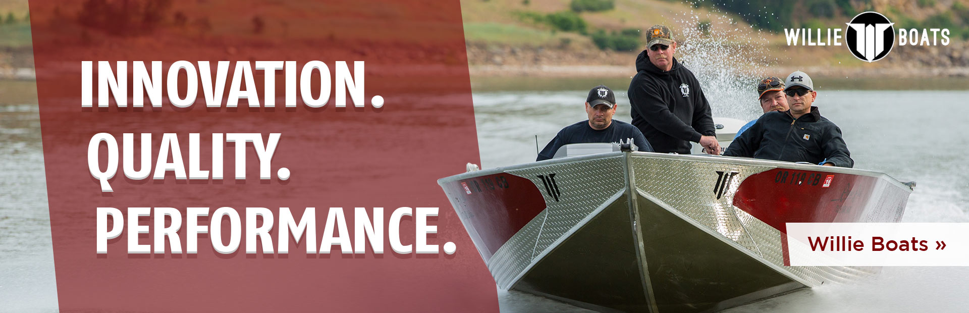Willie Boats: Innovation. Quality. Performance.