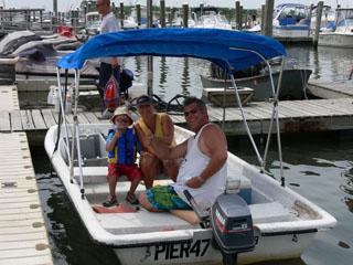 Boat Rentals Pier 47 Marina Wildwood, NJ (609) 729-4774