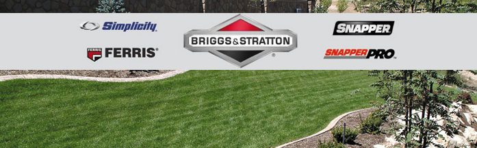 Briggs & Stratton, Simplicity, Ferris, Snapper, and Snapper Pro Financing