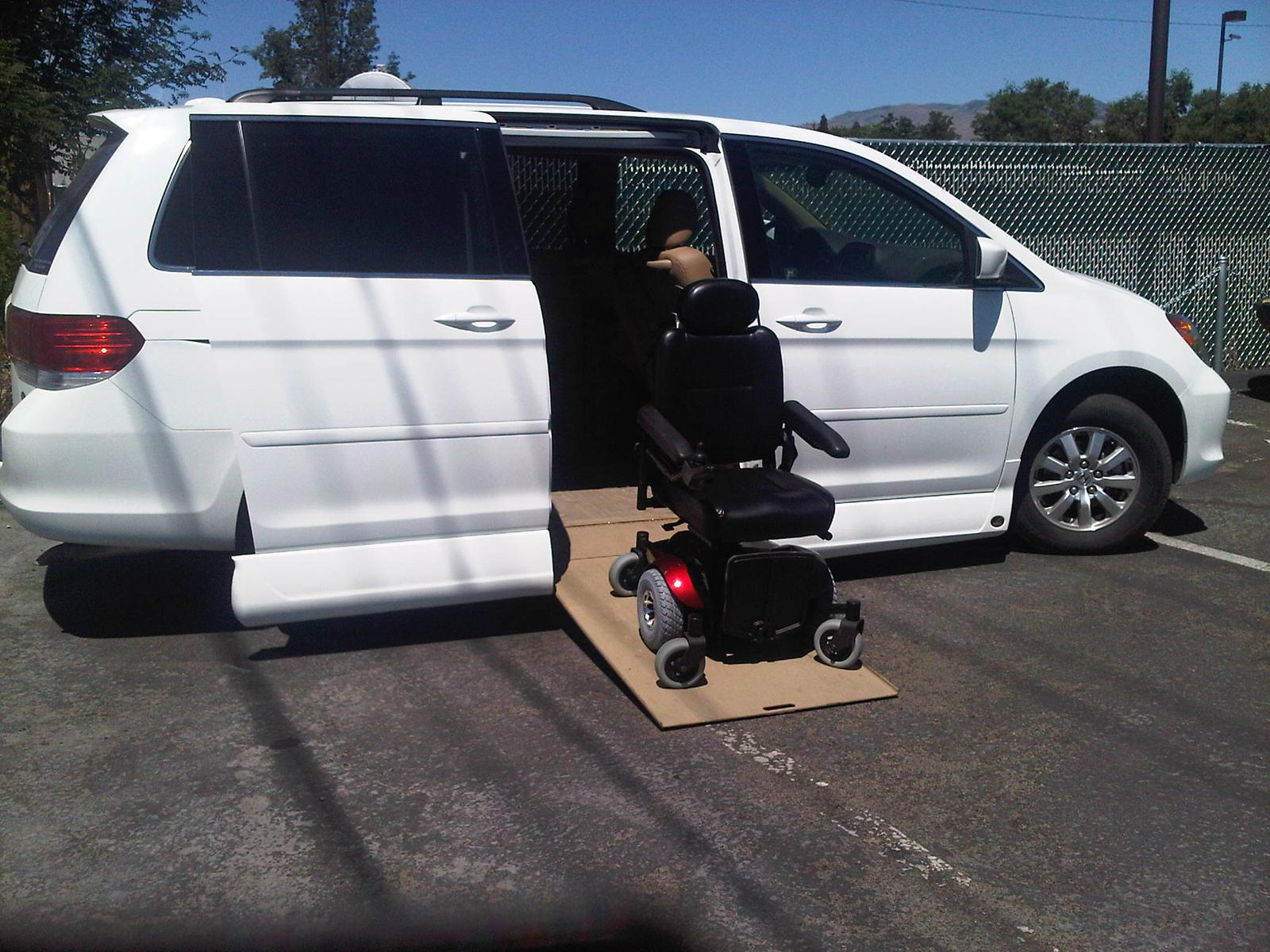 WC Accessible Van