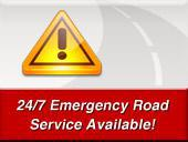 24/7 emergency road service available!