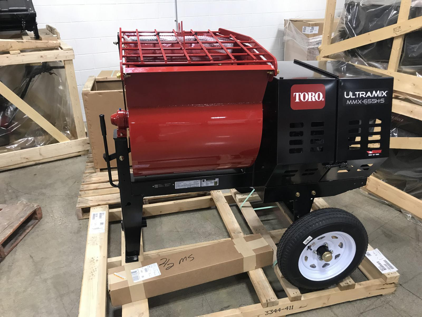Mortar Mixer For Sale >> Toro Mmx 655h S Ultramix Mortar Mixer For Sale In Little Canada Mn