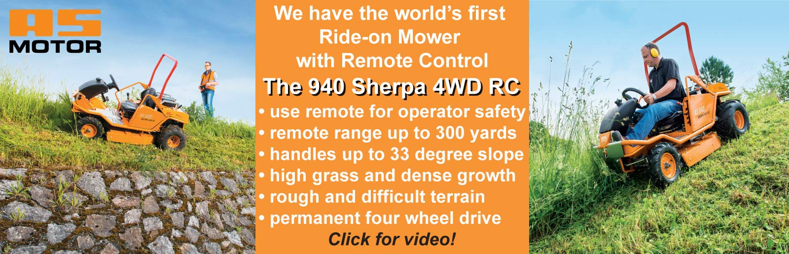 AS Motor 940 Sherpa RC