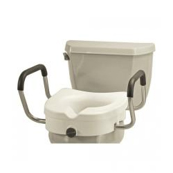 Raised Toilet Seats & Toilet Safety Rails