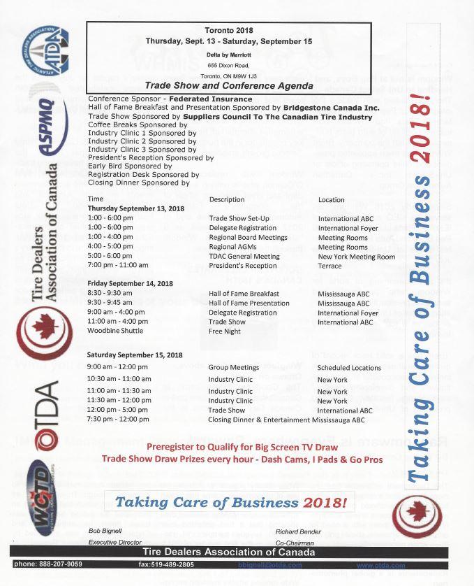 Events Atlantic Tire Dealers Association Riverview Nb 506 386 4306