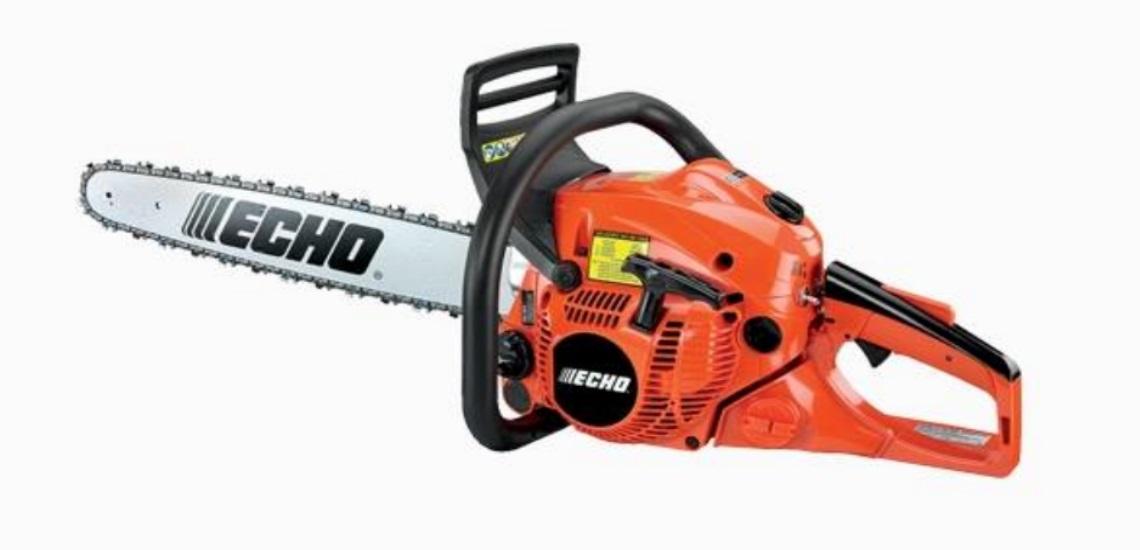 A 2018 ECHO CS-490 chainsaw