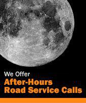 We Offer After-Hours Road Service Calls