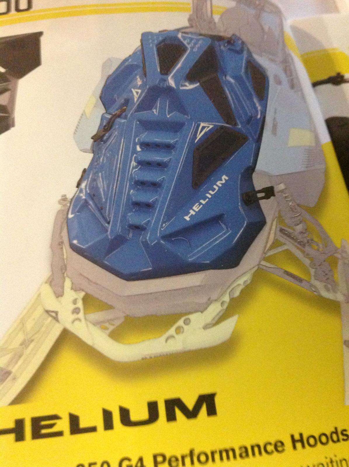 Skinz 850 Gen 4 Ski Doo Helium Hood
