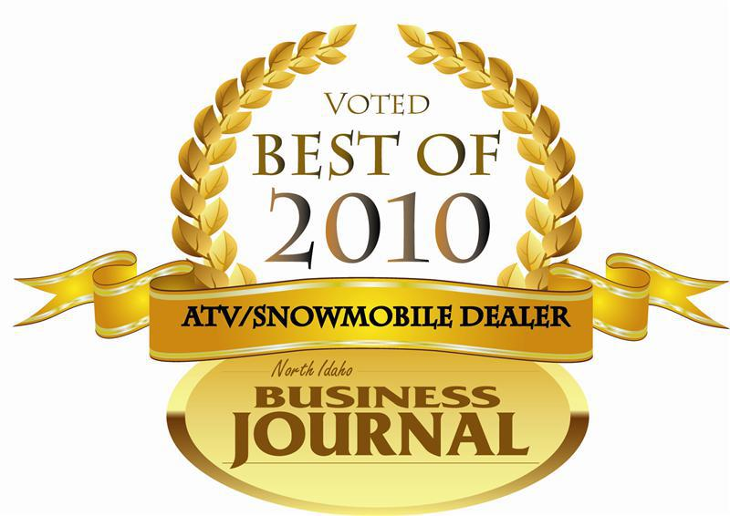 Voted Best of 2010 ATV/Snowmobile Dealer