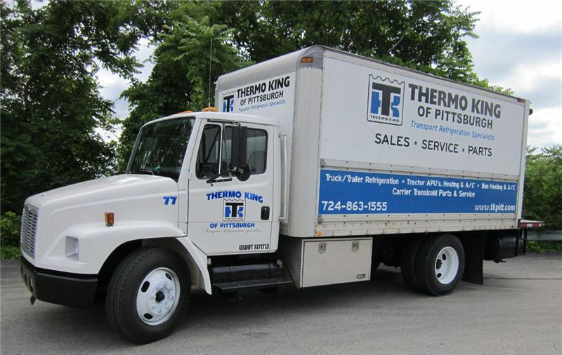 Mobile truck service thermo king of pittsburgh north for Motor truck of pa