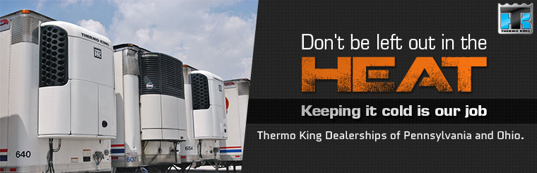 Don't be left out in the heat, keeping it cold is our job! Click here to view our selection of trailers.