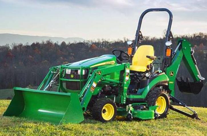John Deere 1 Family Sub Compact Tractors