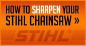 How to sharpen your Stihl Chainsaw