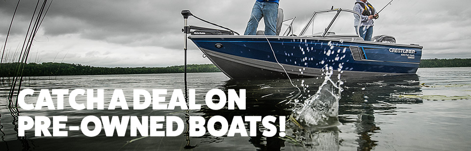 Shop Pre-Owned Boats