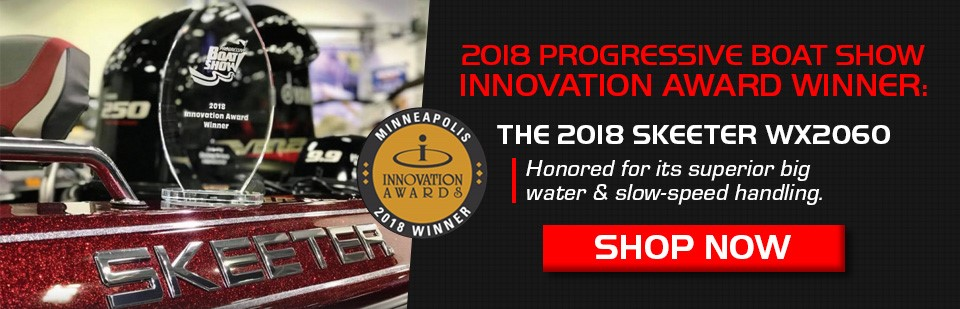 Skeeter 2018 Progressive Boat Show Award Winner!