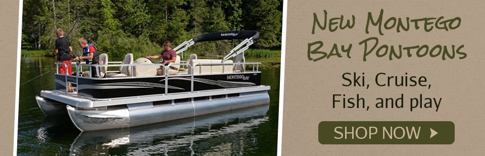 Shop For Montego Bay Pontoon Boats Here!