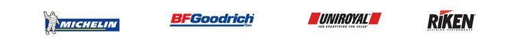 We proudly sell Michelin, BFGoodrich, Uniroyal, and Riken products.