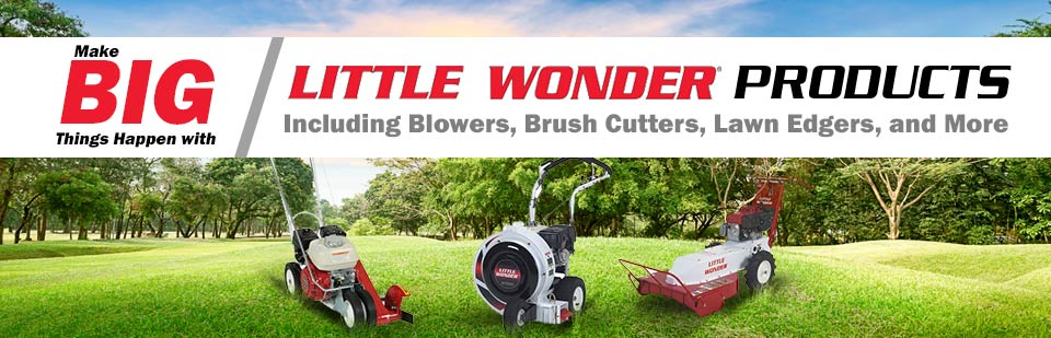 Make big things happen with Little Wonder products.