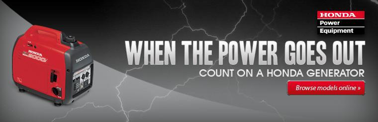 Shop Honda Power Equipment Generators