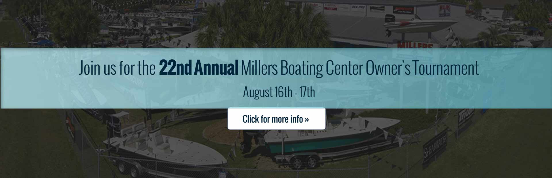 Home Millers Boating Center Ocala, FL (877) 898-1474