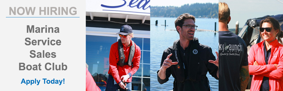 Seattle Boat Co. Is Hiring! See Available Positions And Apply Online.