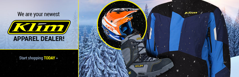 We are your newest KLIM Apparel dealer! Start shopping today.