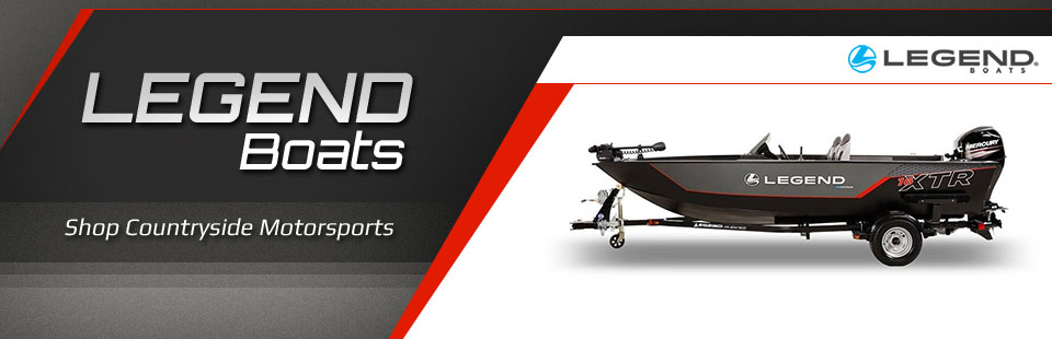 Shop Legend boats at Countryside Motorsports.