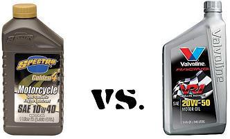 Motorcycle Oil vs Auto Oil