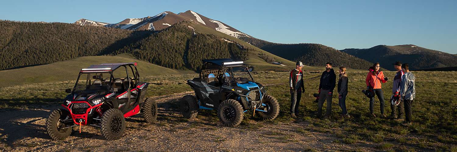 2019 Polaris RZR Side by Side party on mountian
