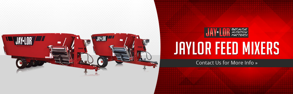 We carry Jaylor feed mixers. Contact us for more info.