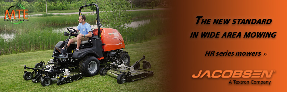 All New Jacobsen HR Series Mowers