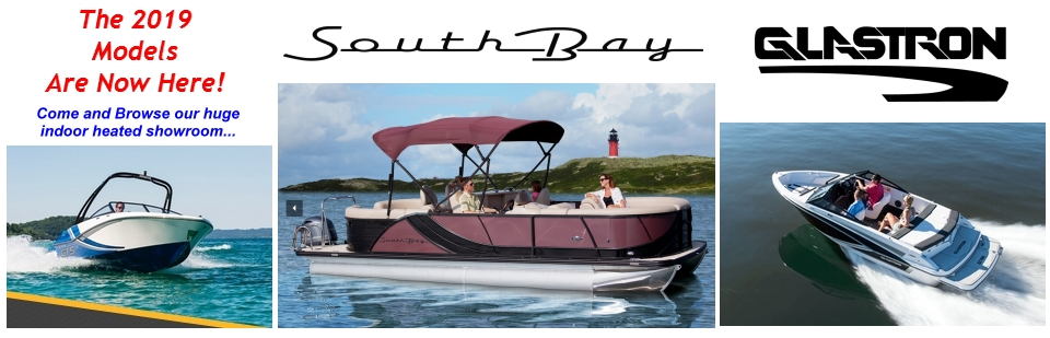 2019 Glastron and South Bay Models Now In Stock!