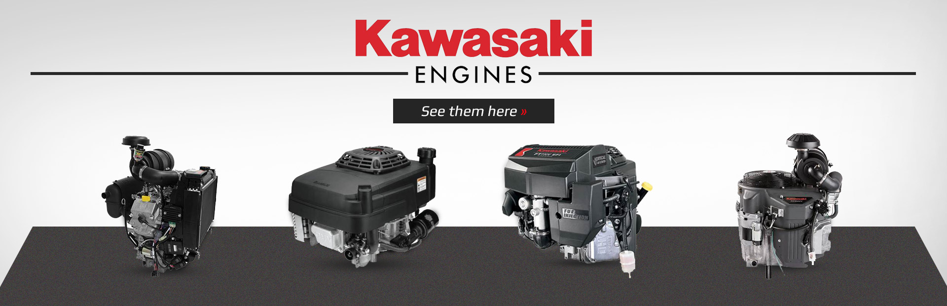 Kawasaki Engines: See them here.