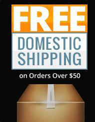 Get free shipping on orders over $50!