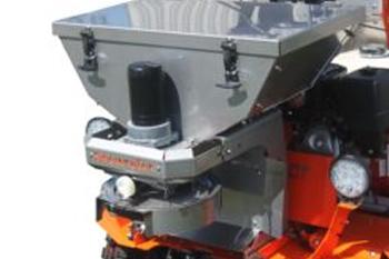 135 lb. Stainless Steel Hopper